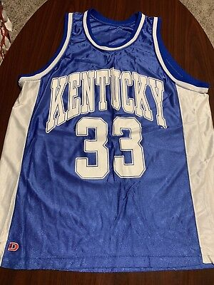 size 40 7db76 a9c7b VINTAGE 90'S KENTUCKY Wildcats Ron Mercer Single Stitch Mens Basketball  Jersey L