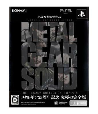 NEW PS3 Metal Gear Solid The Legacy Collection JAPAN Sony PlayStation 3 F/S