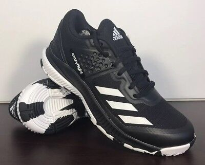 size 40 8588f 1b91e Adidas Crazyflight X Volleyball Shoe Black White Women s Size 5.5 BA9263