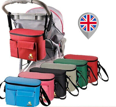 Stroller Baby Nappy Changing Bag Travel Shoulder Diaper Buggy Pram Pushchair S01