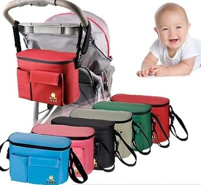 Stroller Baby Nappy Changing Bag Travel Shoulder Diaper Buggy Pram Pushchair S02