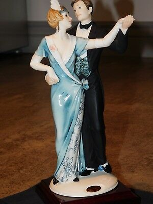 Giuseppe Armani Figurines Moulin Rouge #1303C Made In Italy