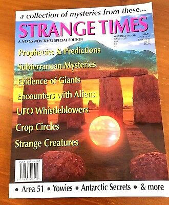 NEXUS 'STRANGE TIMES' SPECIAL MAGAZINE EDITION - A Collection of Mysteries, VGC.