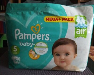 Pampers Baby Dry taille 5, 90 couches