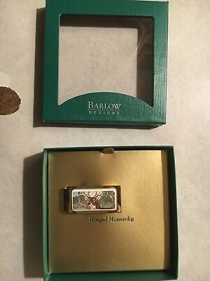 Money Clip Barlow Photo Reproduction End of Trail Hinged Silver Horse 526410c