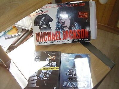 "Collector 2 DVD ""MICHAEL JACKSON"" + Tee-shirt"