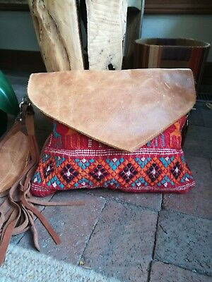 OOAK Handmade Leather Bag by arebycdesign