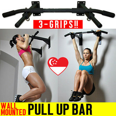 Portable Upper Body Gym Workout Home Exercise Fitness Door Pull Chin Up Sit-Up
