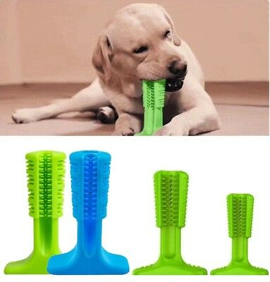 Rubber Dog Chew Toys Toothbrush Stick Teeth Cleaning For Large Dogs Pet Oralcare