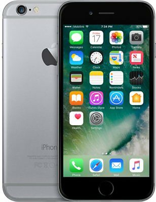 Apple iPhone 6 refurbished door 2ND - 16 GB - Spacegrijs
