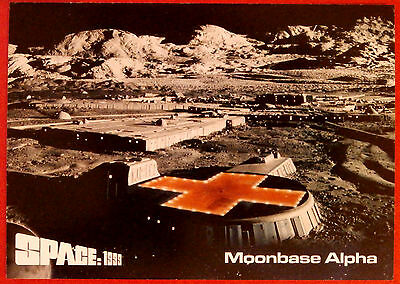 SPACE 1999 - Card #50 - Moonbase Alpha - Unstoppable Cards Ltd 2015