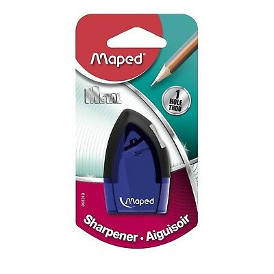 Maped Tonic 1-Hole Pencil Sharpener With Metal Insert 2-1/2 X 1 Inches
