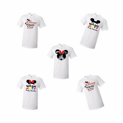 Disney 2019 Family Vacation T-shirts