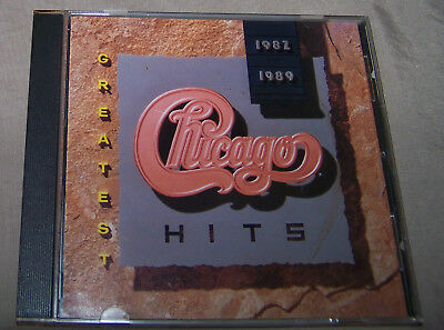 Chicago - Greatest Hits 1982-1989 CD Reprise 1989 Classic Rock/Pop Peter Cetera