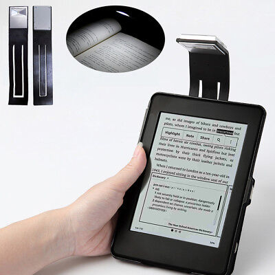 1pc Flexible Neck Folding LED Clip On Reading Book Light Lamp For Reader Kindle