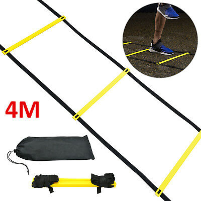 Speed Agility Fitness Training Ladder Soccer Sports Footwork Practise 4m