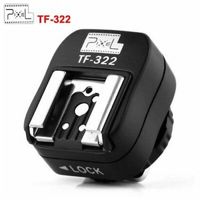Pixel TF-322 ITTL TTL Hot Shoe Converter Adapter to PC Sync Socket For Nikon New