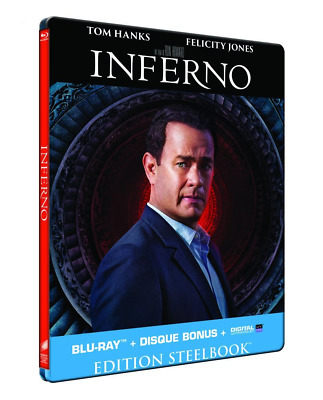 Blu Ray + DVD : Inferno - Ed Steelbook - NEUF