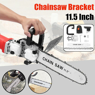 11.5 Inch Chainsaw Bracket Change 100 Angle Grinder Into Chain Saw With Cover
