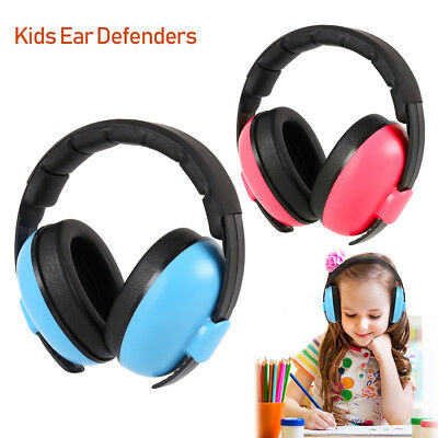 Kids Folding Ear Defenders Noise Reduction Protectors Muff Children Baby Toddler