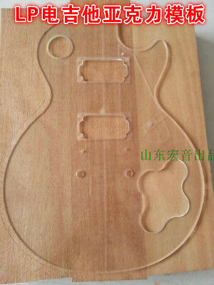 LP Transparent Acrylic Template Electric guitar Making Mold 5mm thickess