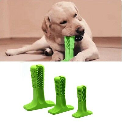 Dog Dental Chews Rubber Toothbrush Stick Tooth Clean For Large Dog Pet Oralcare