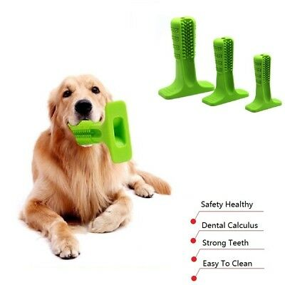 Dog Dental Sticks Rubber Toothbrush Stick Tooth Clean For Large Dog Pet Oralcare