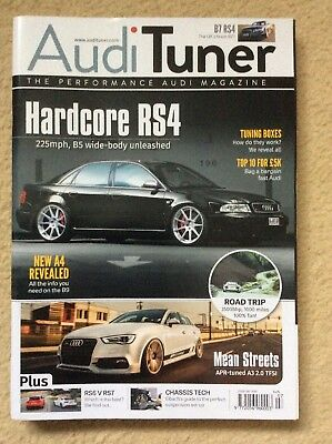 Audi Tuner MAGAZINE(s) Formally Performance Audi- 2015 Back Editions FREE UK P&P