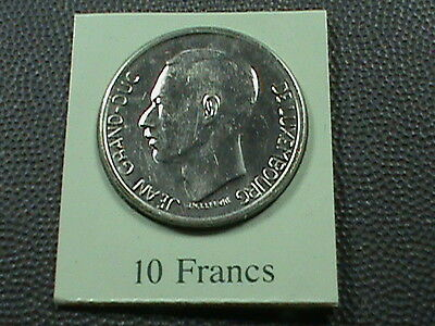 LUXEMBOURG   10 Francs  1980   UNC  MINT  SET ,  $ 2.99 maximum shipping in USA