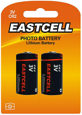 2 x CR2 Lithium Batterie ( 1 Blistercards a 2 Batterien) Markenware EASTCELL