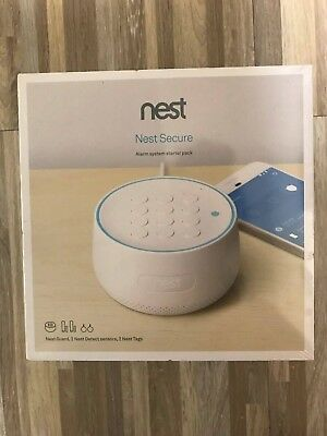 Nest Secure - Home Security Alarm System with Starter Pack- H1500ES