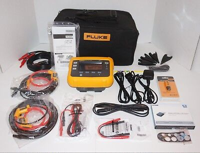 Fluke 1736 Three Phase Power Energy Logger Eu/us Brand New!