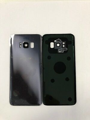 Vitre Arriere Samsung Galaxy S8 G950F Violet- Adhesif Inclus .