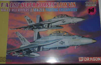Dragon 1/144 F-18 F Us Navy Vfa-11 & Vfa211