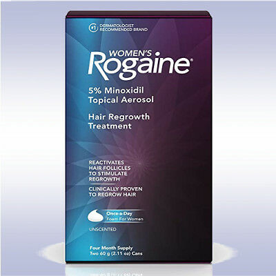 ROGAINE WOMEN'S FOAM (4 MONTH SUPPLY) women hair regrowth treament regaine