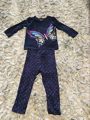 Girls Top And Leggings Gap And Next 1.5-2 Years