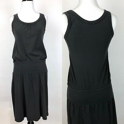 e52b594bf4ff4e James Perse womens dress Medium brushed jersey tank drop waist stretch USA