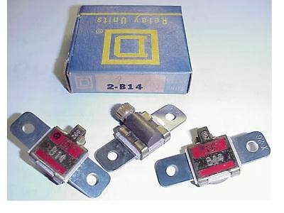 3 New Square D B10.2  Motor Starter Overload Heaters