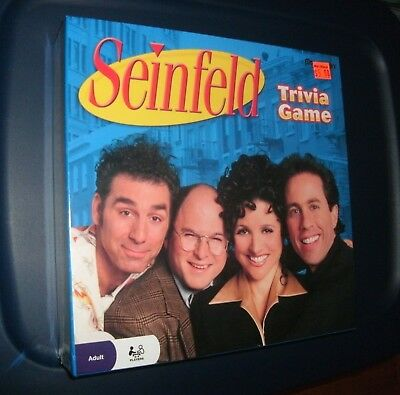 Seinfeld Trivia Board Game by Pressman 2009 BRAND NEW FACTORY SEALED