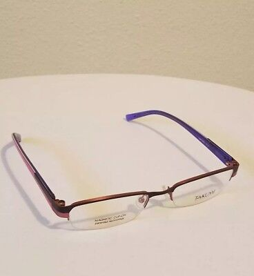 c29891ae1c Takumi T9648 Eyeglasses Frames Purple 53    18 135 Magnetic Clip On  Technology