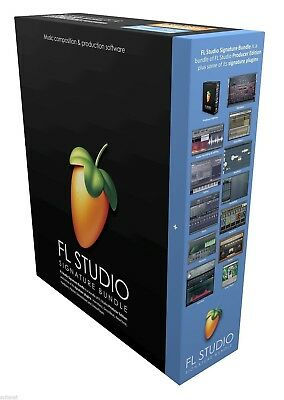 New Image Line FL Studio 12 Signature Bundle Music Software PC & (Mac Bootcamp)