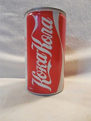 Vintage 1980 Coca-Cola Aluminum Can 1980 Moscow Russia Olympics