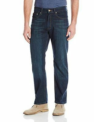 Lee Mens Regular Fit Straight Leg Active Comfort Denim Jeans, Bowery (30x32)