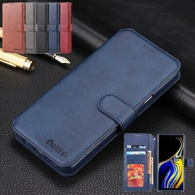 For Samsung Galaxy Note 8 S8 Leather Phone Case Magnet Card Pocket Wallet Cover