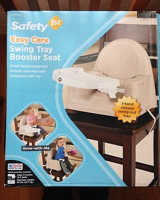 Safety 1st Swing Tray Booster Seat Cream