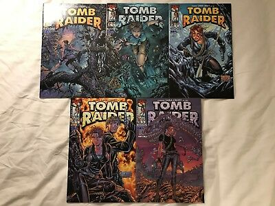 Tomb Raider #1-#5 Including Variant Cover Top Cow