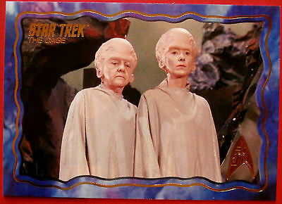 "STAR TREK TOS 50th Anniversary - ""THE CAGE"" - GOLD FOIL Chase Card #63"