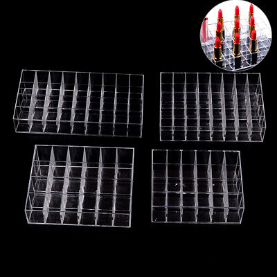 24/36/40 Lipstick Holder Display Stand Cosmetic Organizer Makeup Case Acrylic 3C