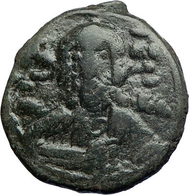 JESUS CHRIST & CROSS 1068AD Ancient Medieval Byzantine  Coin Romanus IV i74219