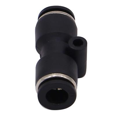 """5PCS Pneumatic Push in Connect Fitting 1/4"""" OD Tube Straight Union Coupler"""